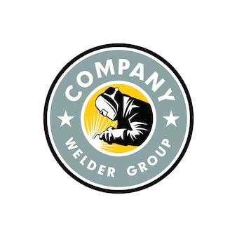 Logotipo do soldador
