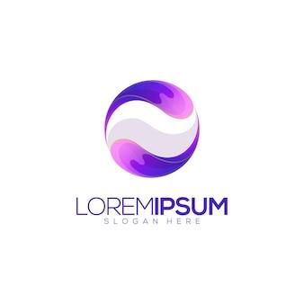 Logotipo do splash circle