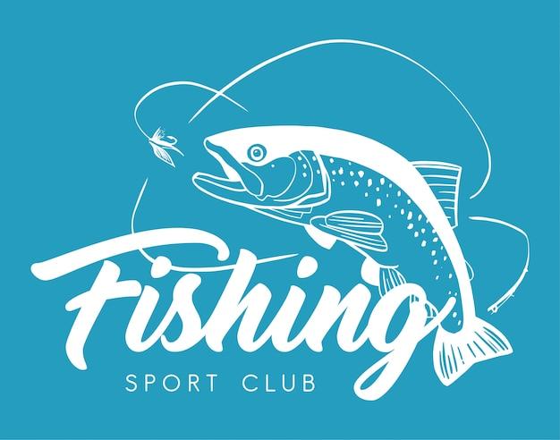 Logotipo do sport club de pesca
