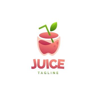 Logotipo do suco de maçã