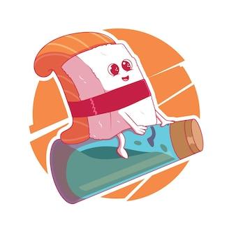Logotipo do sushi