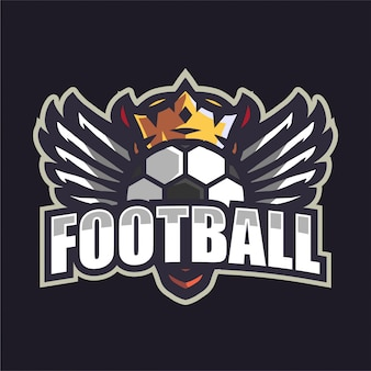 Logotipo do time de futebol crown