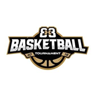 Logotipo do torneio de basquetebol