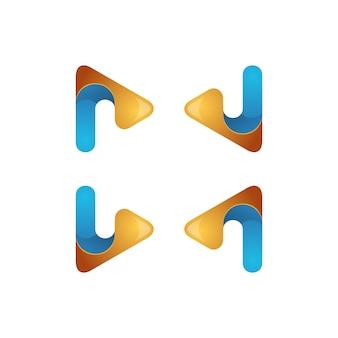 Logotipo do triângulo