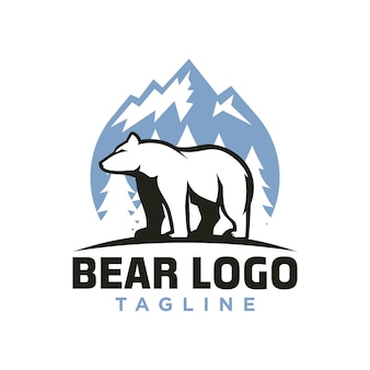 Logotipo do urso polar