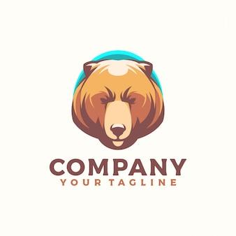 Logotipo do urso silencioso