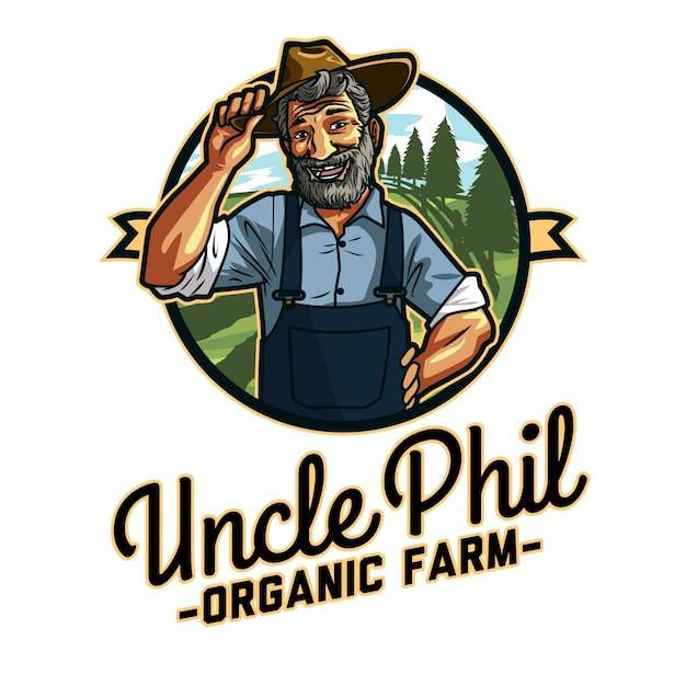 Logotipo do velho fazendeiro