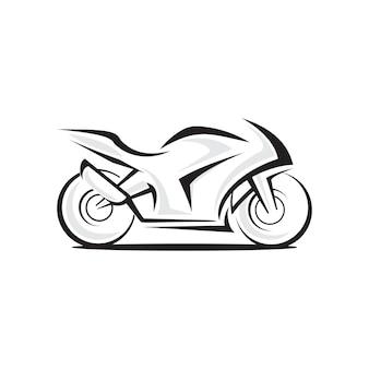 Logotipo do vetor da motocicleta