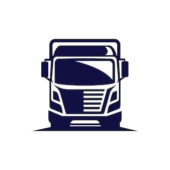 Logotipo do vetor do caminhão
