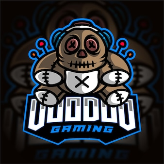 Logotipo do voodoo gamer esport gaming