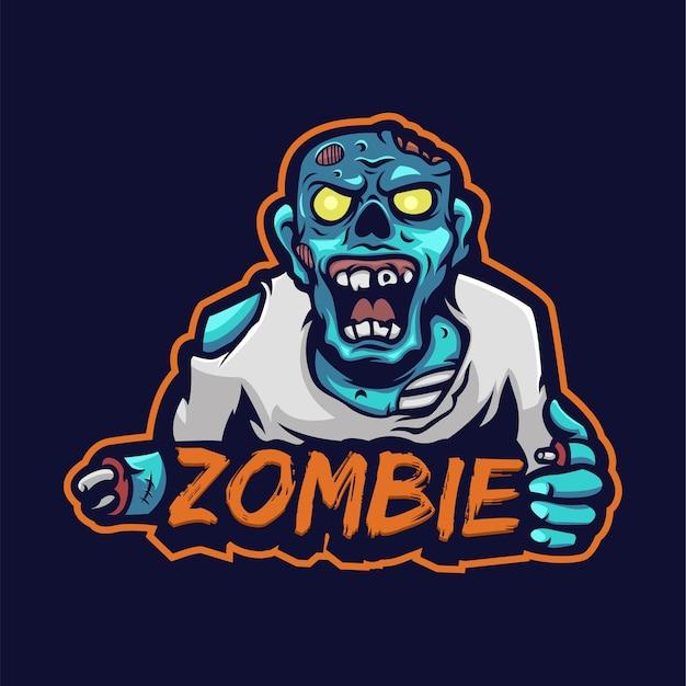 Logotipo do zombie e sport