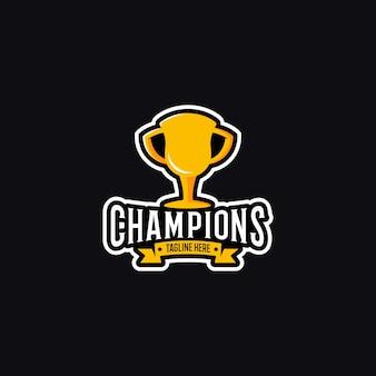 Logotipo dos campeões