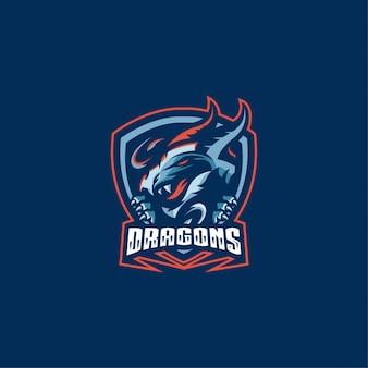 Logotipo dos dragões
