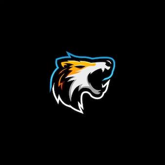Logotipo dos lobos