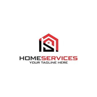 Logotipo dos serviços residenciais