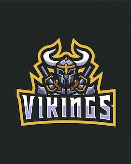 Logotipo dos vikings