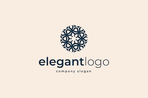 Logotipo elegante abstrato
