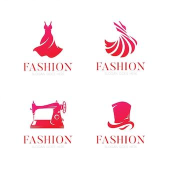 Logotipo elegante da forma