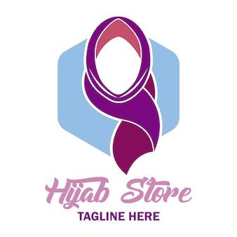Logotipo elegante da hijab