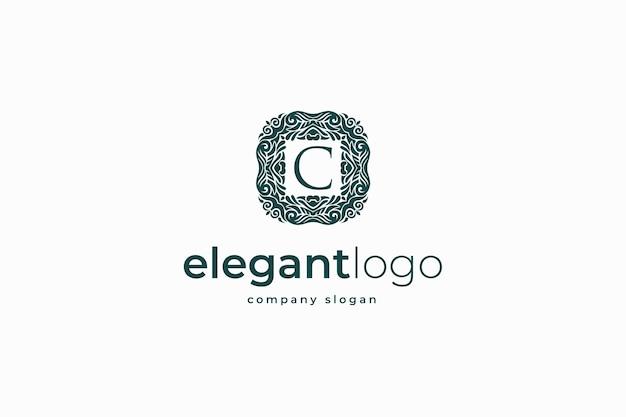 Logotipo elegante do monograma