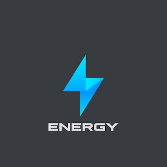 Logotipo em flash isolado em preto