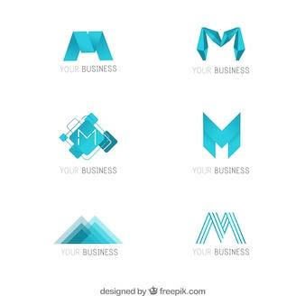 Logotipo empresarial moderno