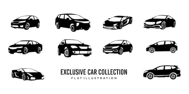 Logotipo exclusivo da coleção de carros