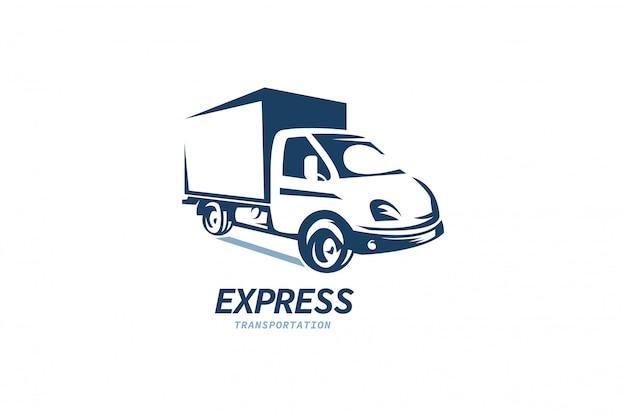 Logotipo expresso do caminhão