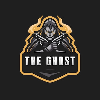 Logotipo fantasma esport