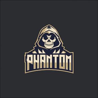 Logotipo fantasma