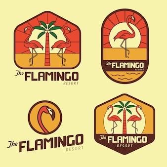 Logotipo flamingo beach resort