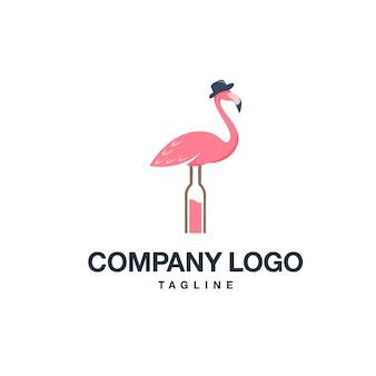 Logotipo flamingo