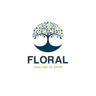 Logotipo floral