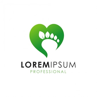 Logotipo foot love care