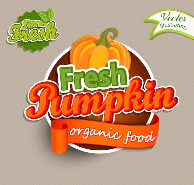 Logotipo fresh pumkin.