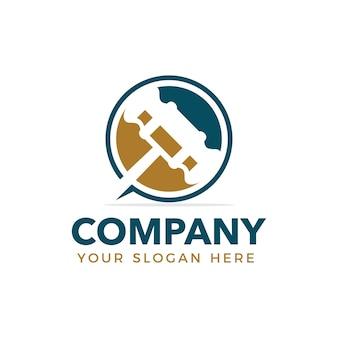 Logotipo gavel