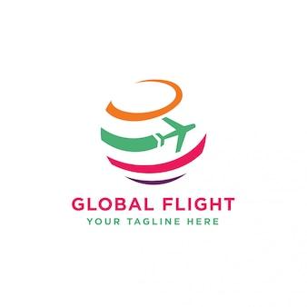 Logotipo global de voos