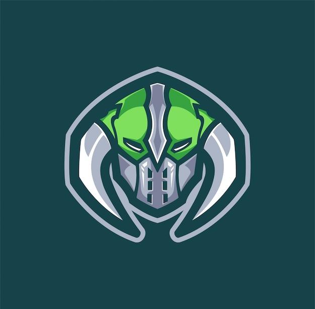 Logotipo grenn viking