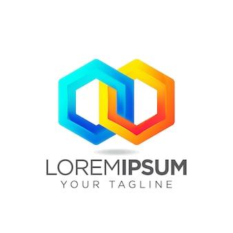 Logotipo hexagonal
