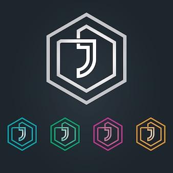 Logotipo hexagone j