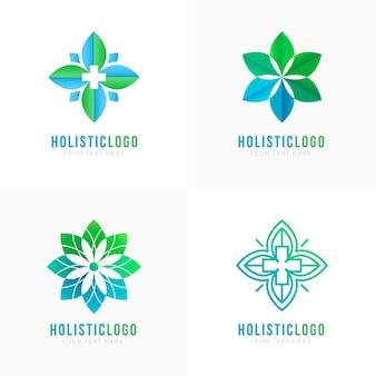 Logotipo holístico de gradiente