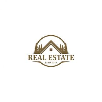 Logotipo imobiliário - design moderno e simples