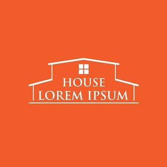 Logotipo imobiliário simples