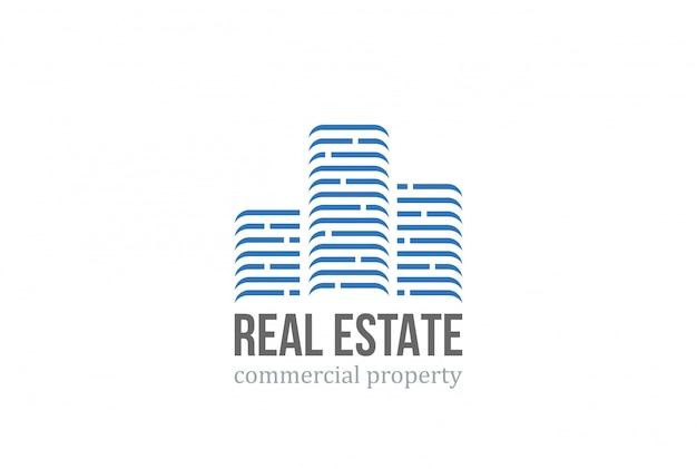 Logotipo imobiliário.