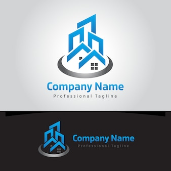 Logotipo imobiliário