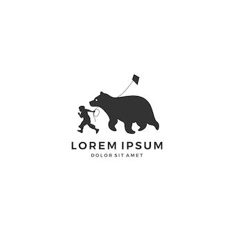 Logotipo infantil infantil