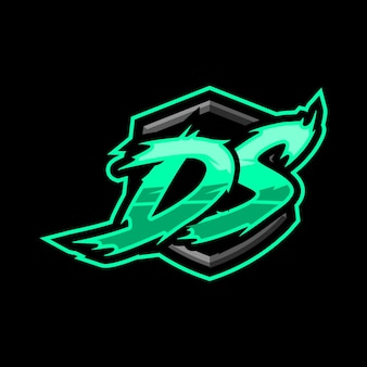 Logotipo inicial do ds gaming