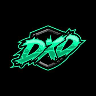 Logotipo inicial do jogo dxd