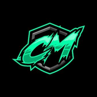 Logotipo inicial do jogo em cm