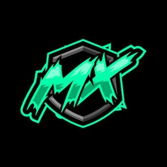 Logotipo inicial do jogo mx